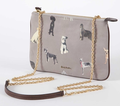 Paul Smith Doggy Print Chain Purse