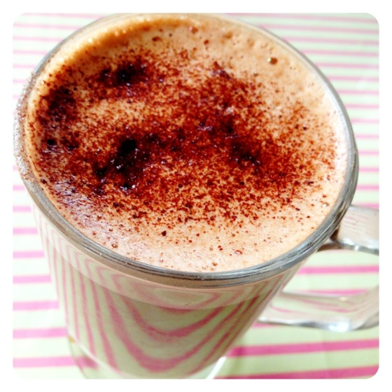 Double Choc Mocha at Victoria Plum Tea Room, Otley