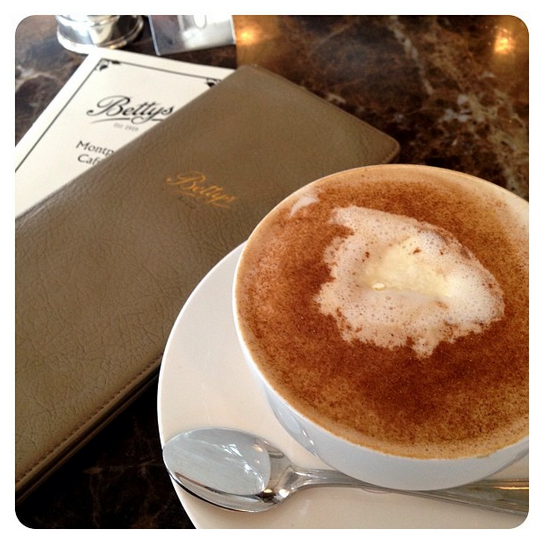 Coffee Vienna at Bettys Tea Rooms in Harrogate