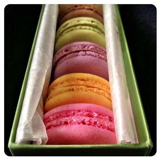 Macaroons from Bettys Tea Rooms in Harrogate