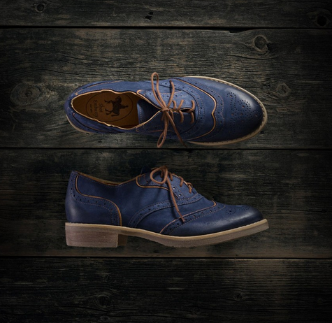 Shoe Embassy, Brick Lane in Indigo, £69