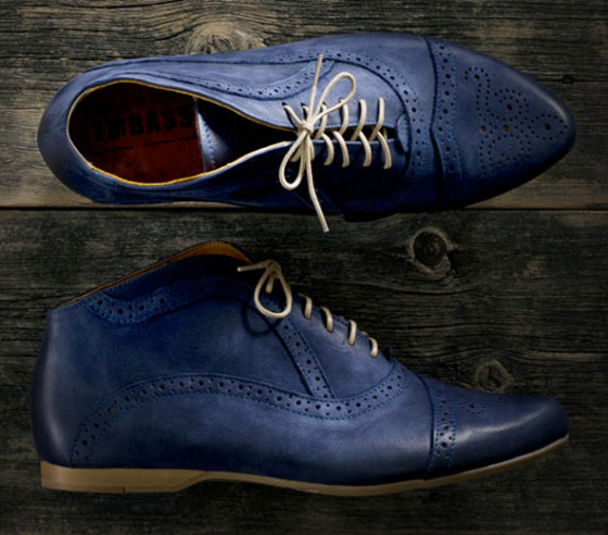 Shoe Embassy, Al Capone in Indigo, £55