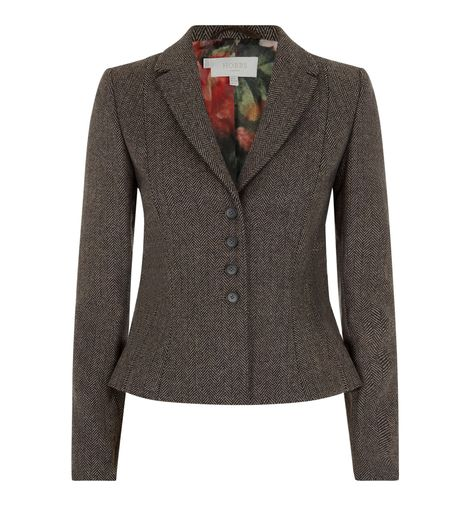 Hobbs London, Herringbone Jacket,  £229.00
