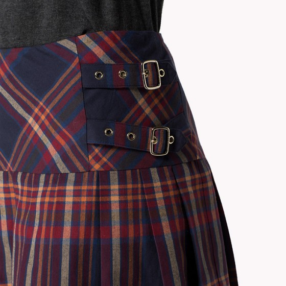 Tommy Hilfiger, Risa Check Skirt, £115