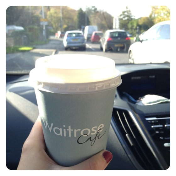 Coffee in the car