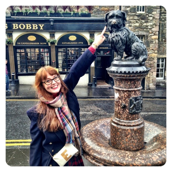 Tourist spots of Edinburgh; Greyfriar's Bobby