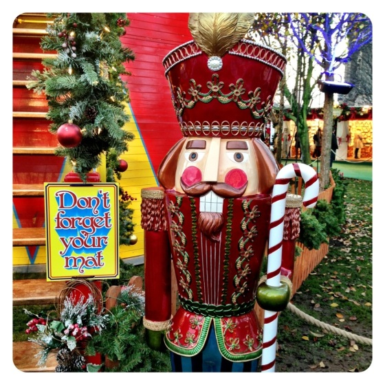 Giant Christmas Nutcracker