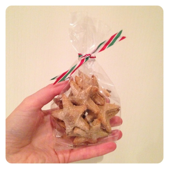 Quick and easy home baked Christmas dog treats; cheese, parsnip and swede stars