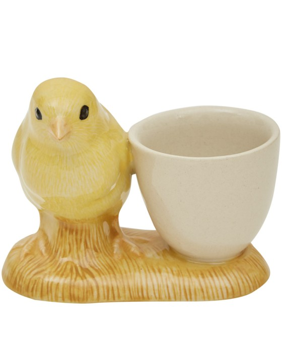 Quail Pottery Yellow Chick Egg Cup, £12.95 from Liberty, via Under a Glass Sky