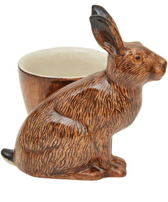 Quail 'Brown Hare' Egg Cup, £12.95 from Liberty, via Under a Glass Sky