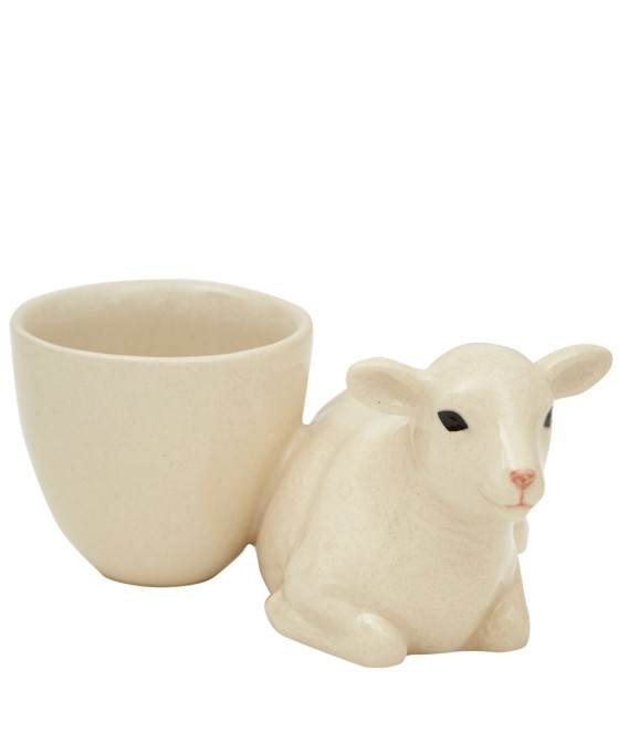 Quail Pottery White Lamb Egg Cup, £12.95 from Liberty, via Under a Glass Sky