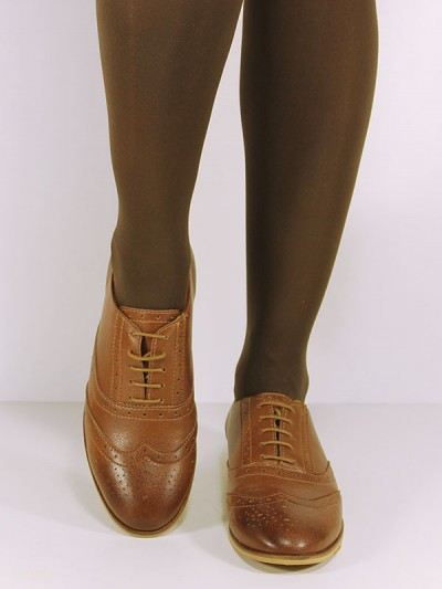 Brogues in Chestnut, £69