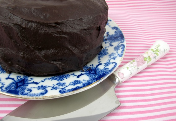 Coconut Flour Chocolate Cake Recipe by Under A Glass Sky