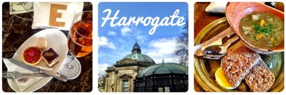 Harrogate: Betty's, The Royal Pump Room, Baltzersen's, by Under a Glass Sky