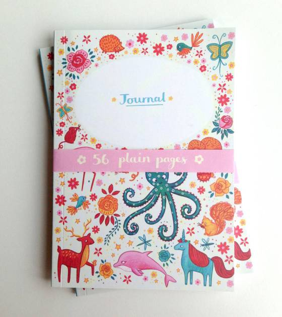 Mythical Animals Notebook by Emma Randall via Under a Glass Sky