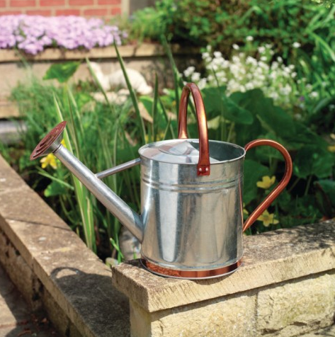 Gardman Copper Trim 9ltr Watering Can, via Under a Glass Sky