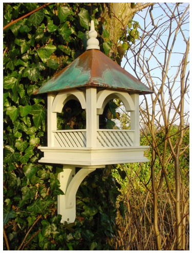 Wildlife World Bempton Bird Table with Copper Roof via Under a Glass Sky