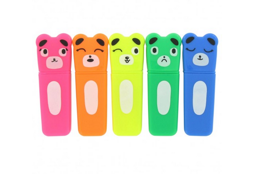 Bear Highlighters via Under a Glass Sky