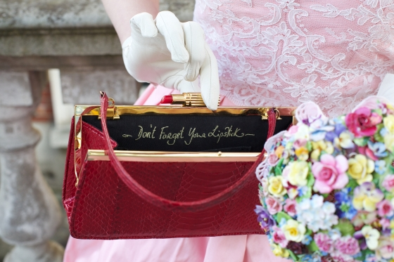 Our wedding: Lulu Guinness 'Don't Forget Your Lipstick' handbag