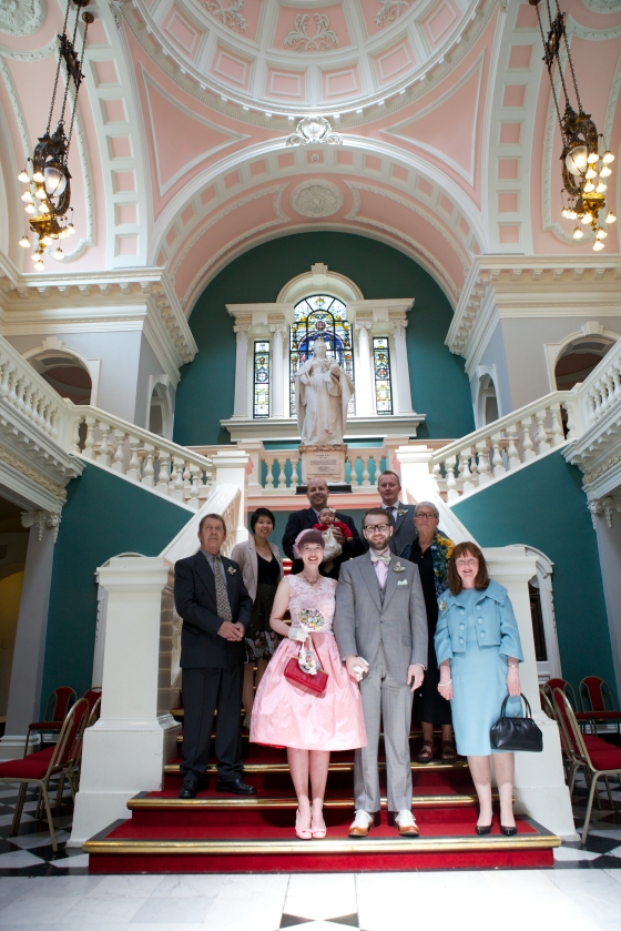 Our wedding: Greenwich Town Hall