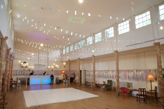 The British Schools Museum, Hitchin, wedding venue decor