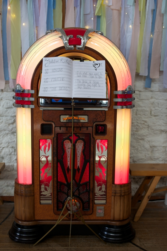 Wedding jukebox