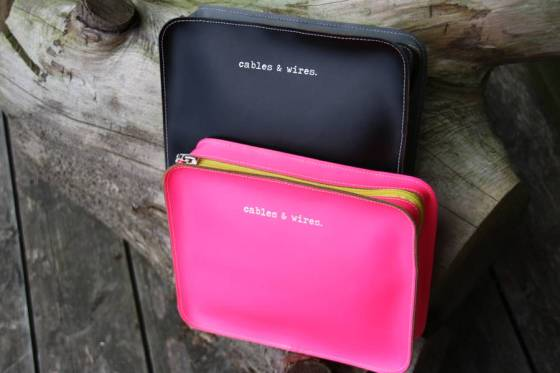 Cables and Wires tidy case by Undercover via Not on the High Street, £34.95
