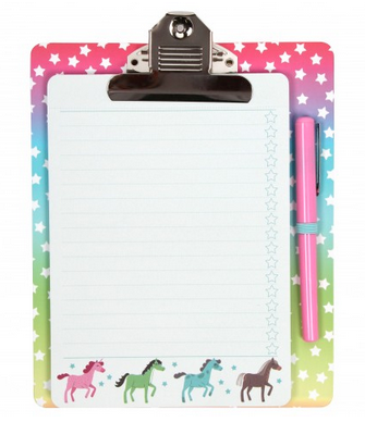 Pony Party List Clip Board, £6.00